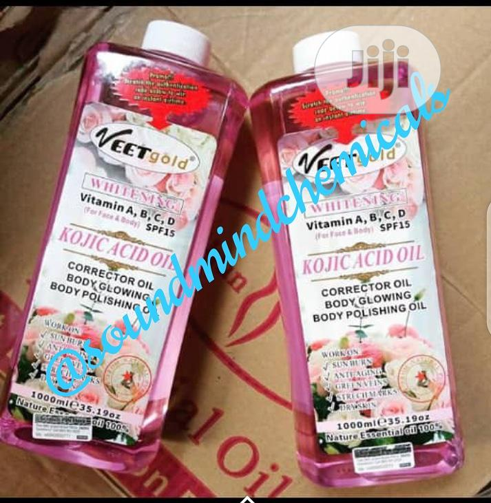 Veet Gold Kojic Acid Oil(1litre)