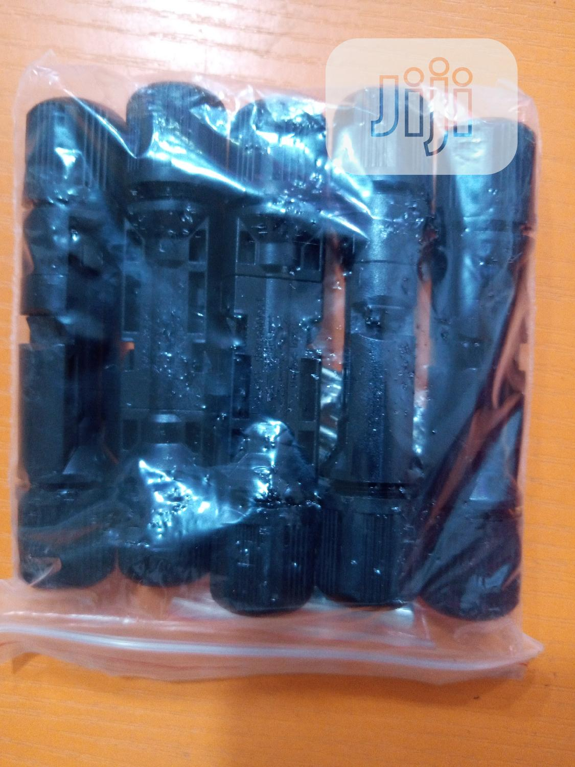 5 Pairs of MC4 Connector for Solar | Solar Energy for sale in Ojodu, Lagos State, Nigeria
