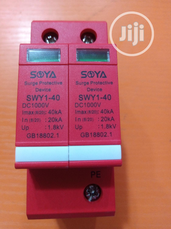 Soya DC Surge Protective Device, 1000VDC,Imax 40ka