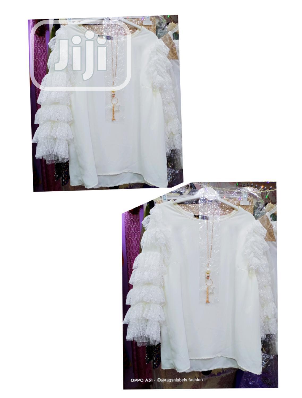 Turkish Chiffon Top.   Clothing for sale in Amuwo-Odofin, Lagos State, Nigeria