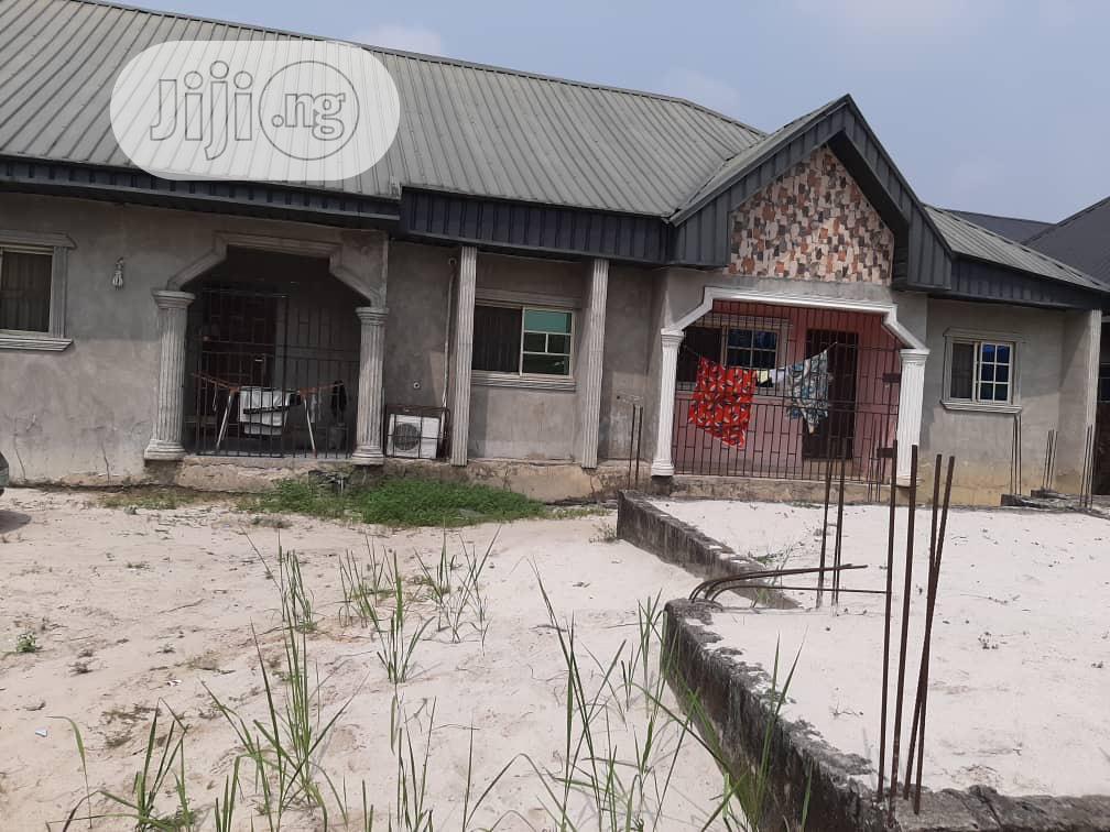 3 Flats Uncompleted Building 4 Sale at Otokutu, Warri