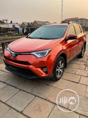 Toyota RAV4 2016 XLE AWD (2.5L 4cyl 6A) Orange | Cars for sale in Lagos State, Amuwo-Odofin