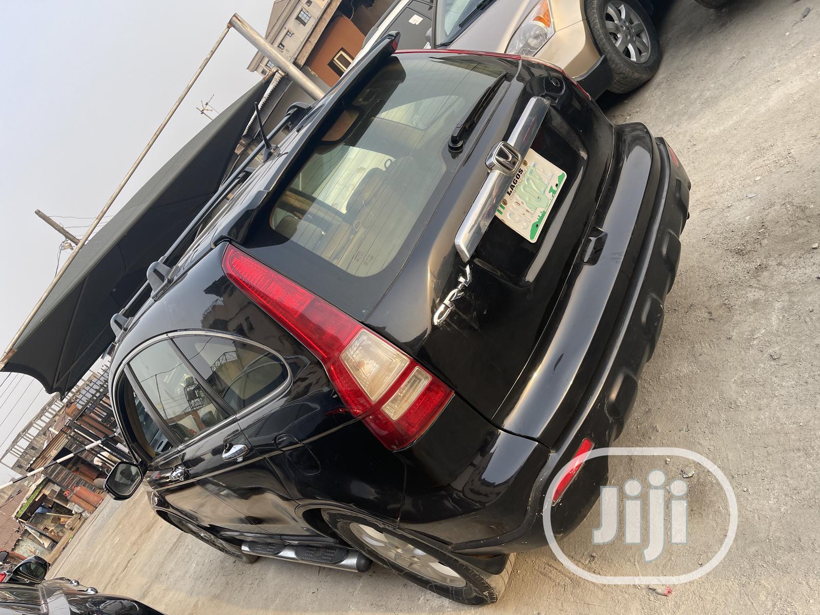Honda CR-V 2008 Black | Cars for sale in Surulere, Lagos State, Nigeria