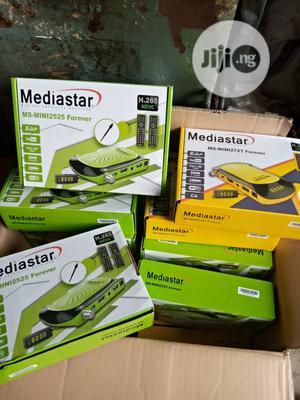 Mediastar Full HD Decoder. H265 With Forever Account | TV & DVD Equipment for sale in Lagos State, Lekki