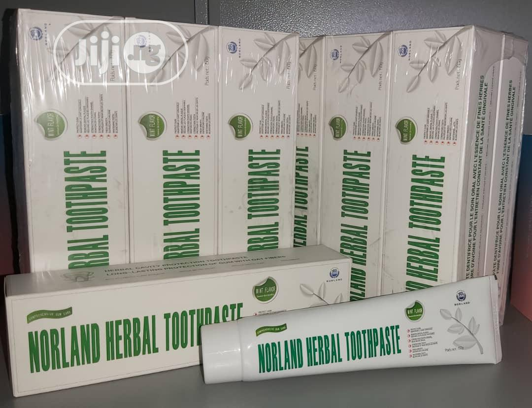 Norland Toothpaste Contains Anti-Pain Killing Properties