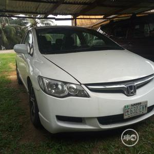 Honda Civic 2009 1.8i-VTEC EXi Automatic White | Cars for sale in Cross River State, Calabar