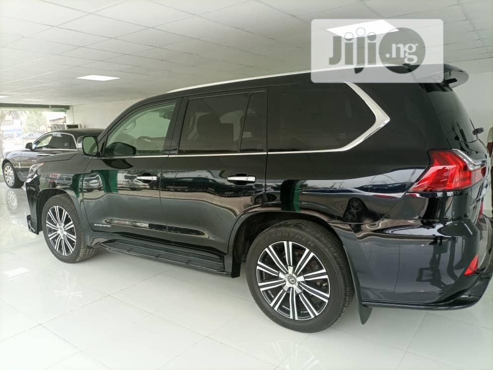 Lexus LX 2018 570 Three-Row Black | Cars for sale in Ojodu, Lagos State, Nigeria
