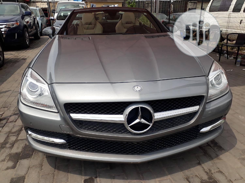 Mercedes-Benz SLK Class 2012 Gray