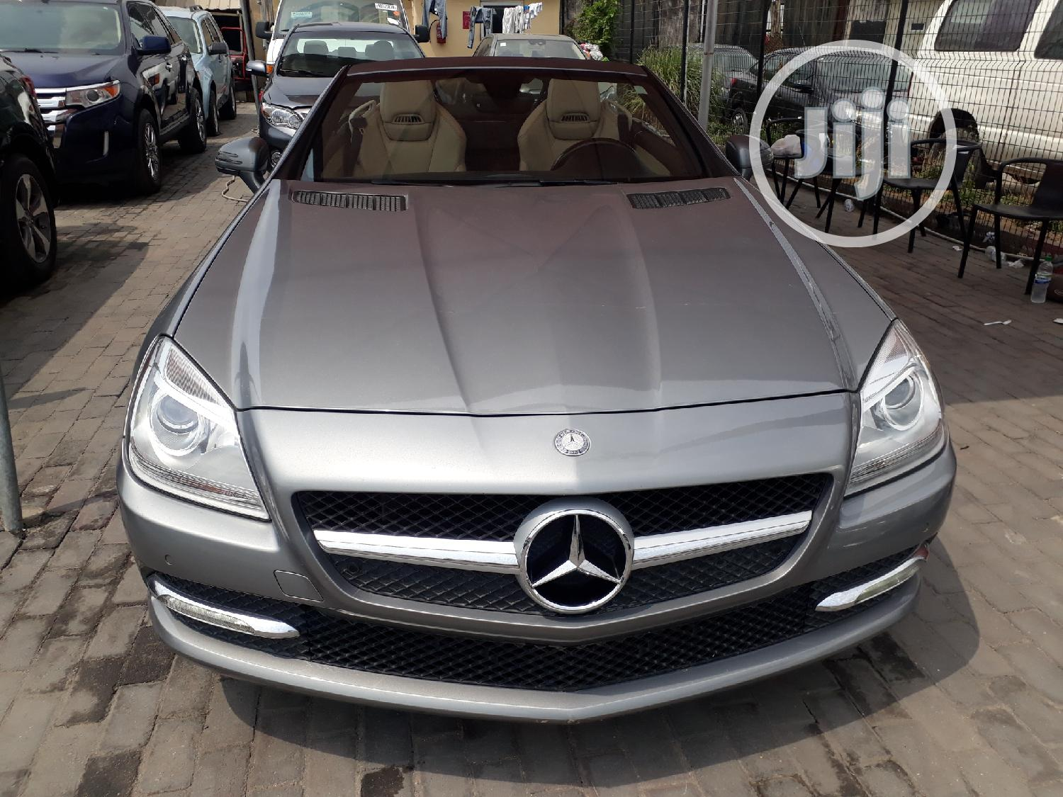 Mercedes-Benz SLK Class 2012 Gray   Cars for sale in Lekki, Lagos State, Nigeria