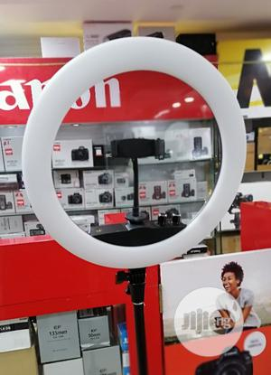 """Ring Light """"14'' With Phone Clip + Mirror + Stand (Standard) 