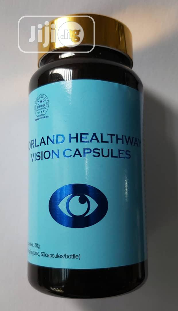 Vision Caps Cure for Glaucoma, Myopia and Cataracts