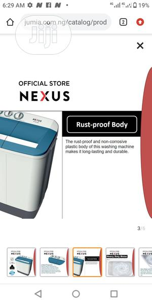 Nexus 6.5KG Twin Tub Semi Automatic Washing Machine   Home Appliances for sale in Lagos State, Lagos Island (Eko)