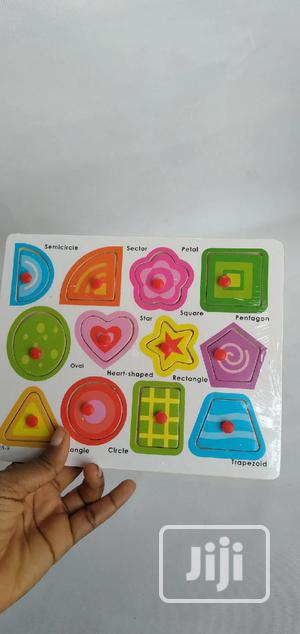 Detachable Shapes Identification Board | Toys for sale in Lagos State, Agboyi/Ketu