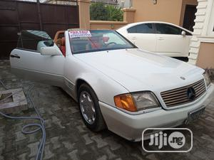 Mercedes-Benz SL Class 1991 White   Cars for sale in Lagos State, Ikoyi