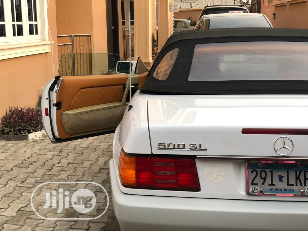 Archive: Mercedes-Benz SL Class 1991 White