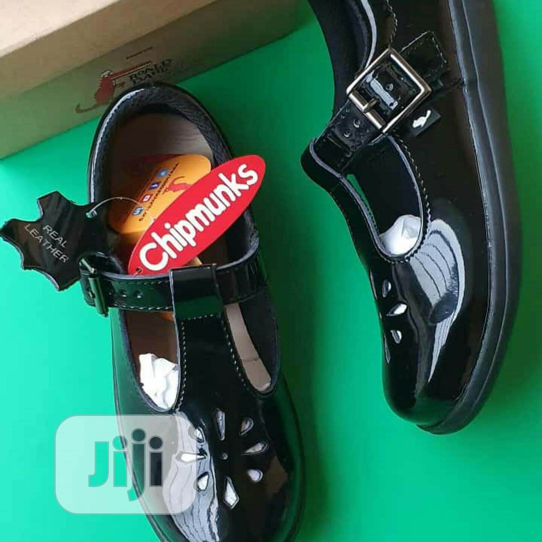 Chipmunks Girls School Shoe