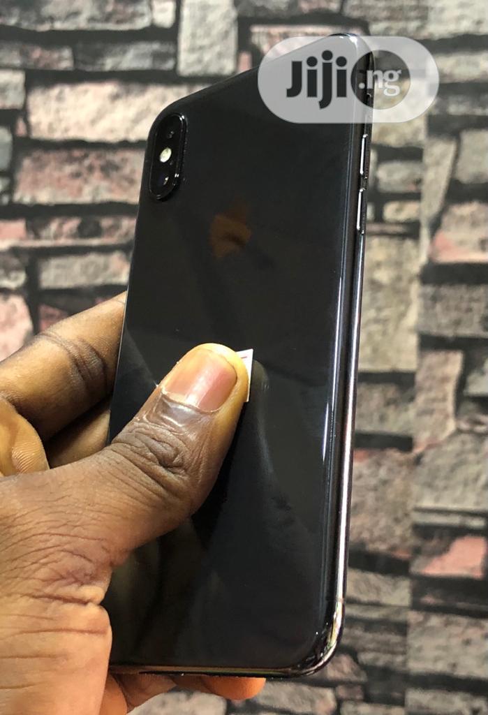 Apple iPhone X 256 GB Black   Mobile Phones for sale in Ikeja, Lagos State, Nigeria