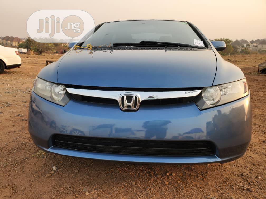 Archive: Honda Civic 2007 1.8 Sedan EX Blue
