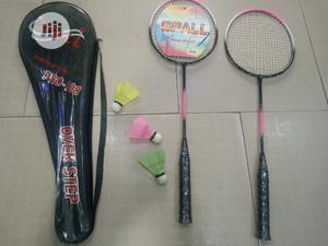 Badminton Racket (Set With Shuttle)   Sports Equipment for sale in Lagos State, Surulere