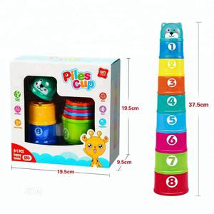 Children Toddler Stacking Cup Toy Birthday Gift   Toys for sale in Lagos State, Ikeja