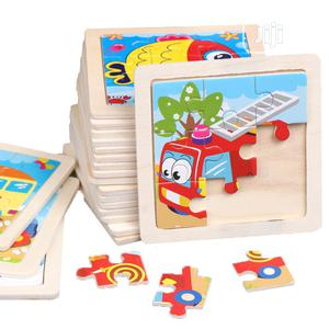 Children 9 Piece Jigsaw Puzzle Kids Toy Gift X 3 Designs | Toys for sale in Lagos State, Ikeja