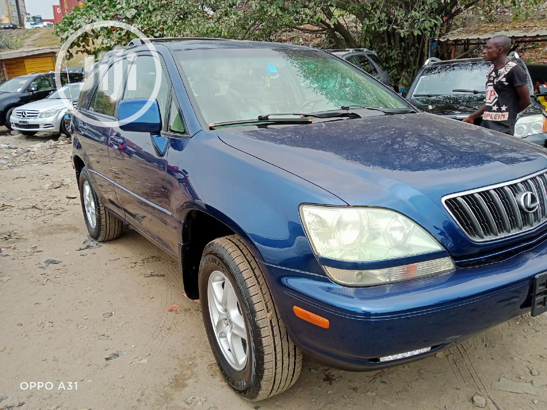 Archive: Lexus RX 2002 Blue
