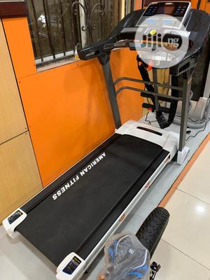 2.5hp Heavy Duty Treadmill ( American Fitness)   Sports Equipment for sale in Lagos State, Lekki