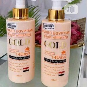 Purec Egyptian Magic Whitening Gold Lotion | Skin Care for sale in Lagos State, Ojo