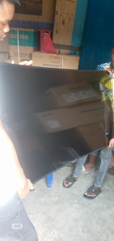 Original Samsung TV 55inches Led Curved   TV & DVD Equipment for sale in Oshodi, Lagos State, Nigeria