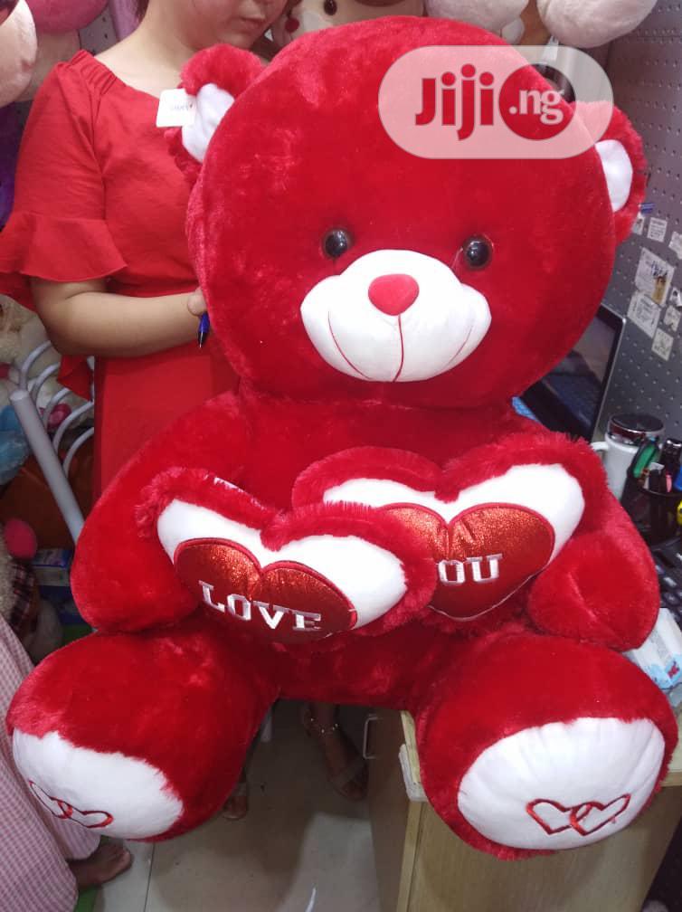 Big Fluffy Teddy Bear