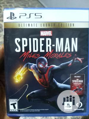 Miles Morales Spiderman Ultimate Edition Ps5 | Video Games for sale in Abuja (FCT) State, Wuse