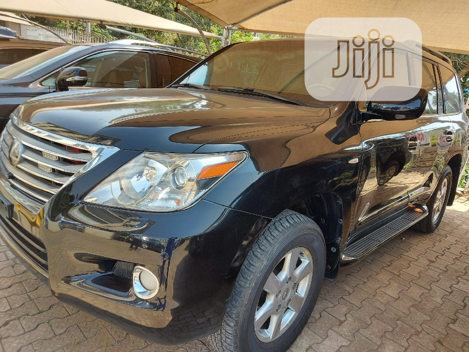 Archive: Lexus LX 2010 570 Black
