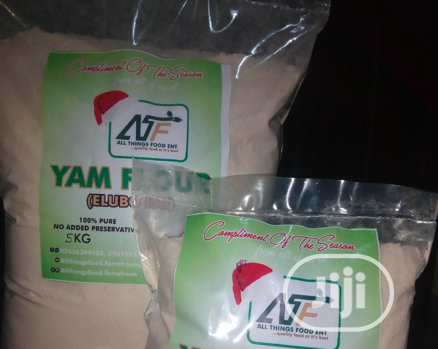 Yam Flour (Elubo Isu) | Meals & Drinks for sale in Ifako-Ijaiye, Lagos State, Nigeria