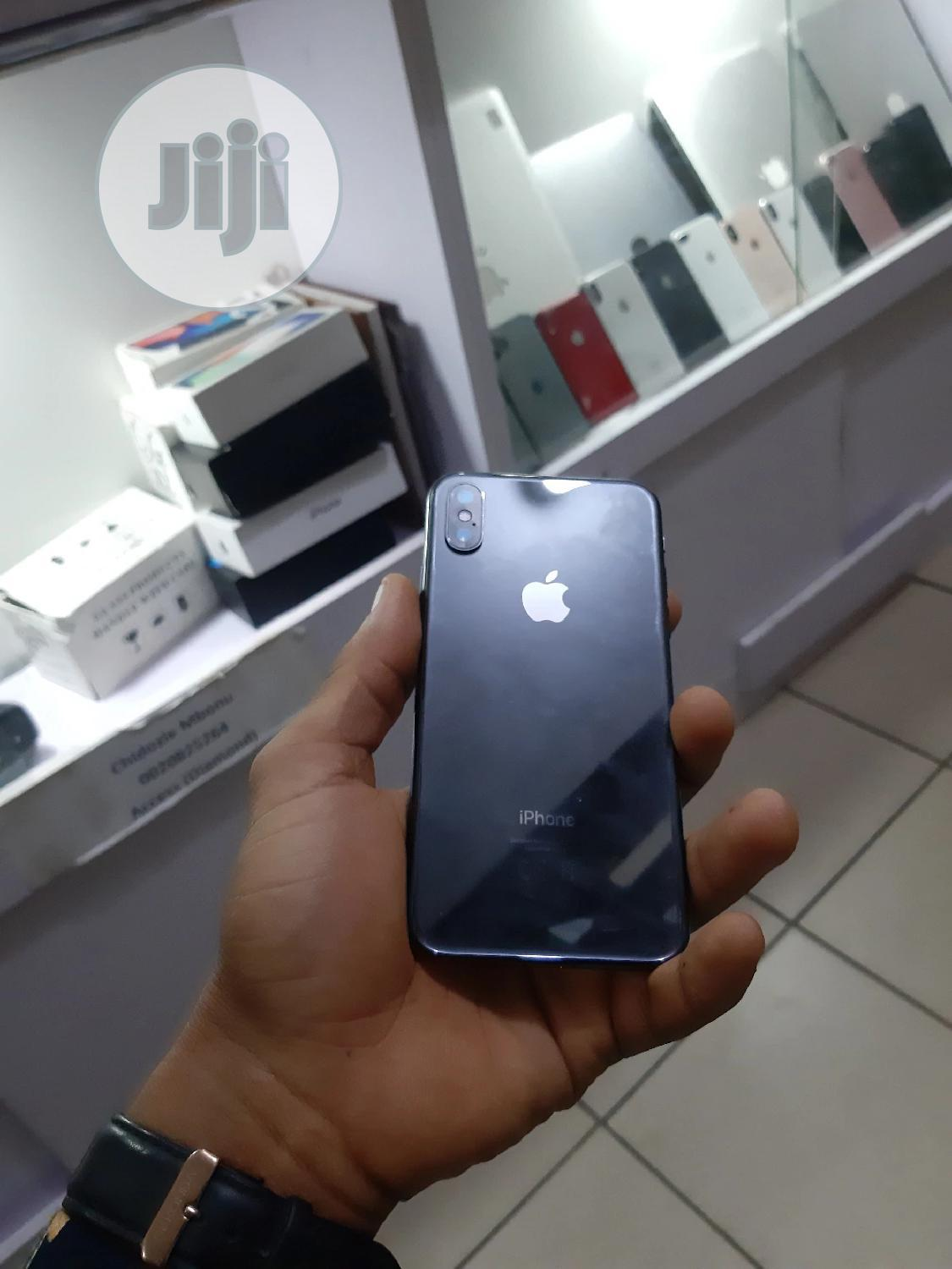 Apple iPhone X 256 GB Black | Mobile Phones for sale in Wuse 2, Abuja (FCT) State, Nigeria