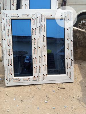 Casement Window With Burglary and Net   Windows for sale in Lagos State, Agege