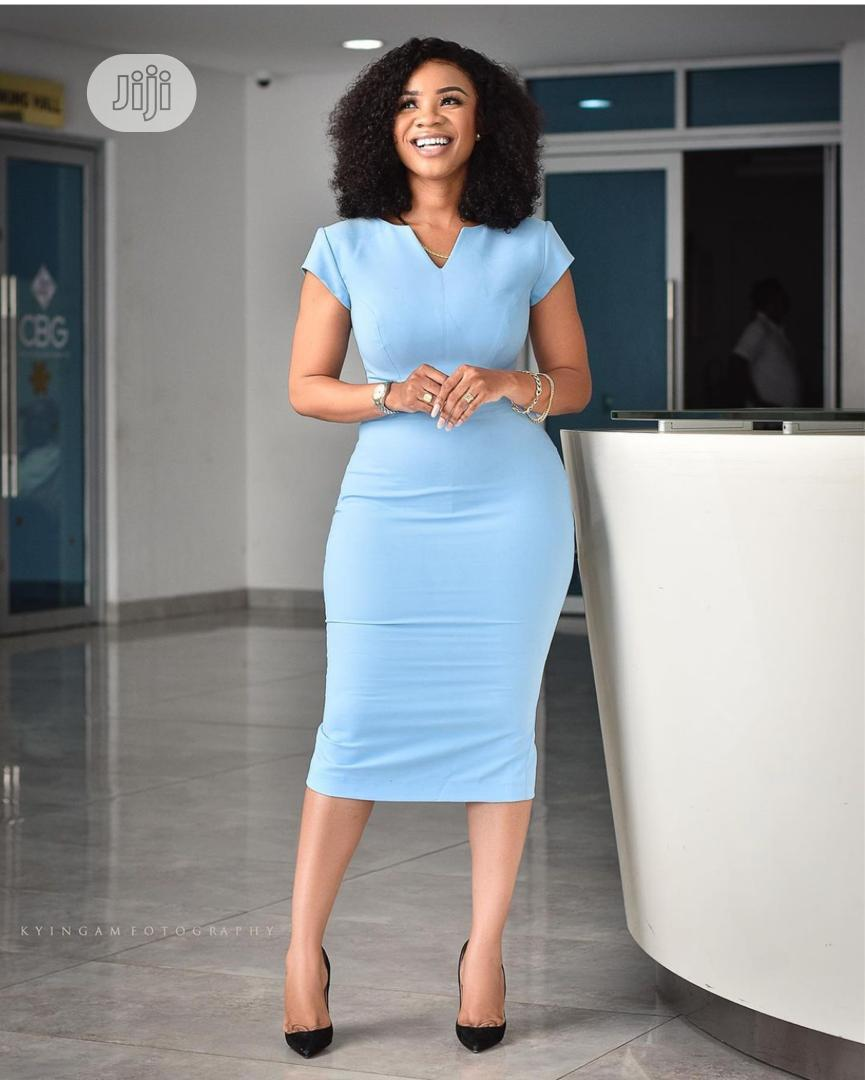Quality Ladies Fitted Gown