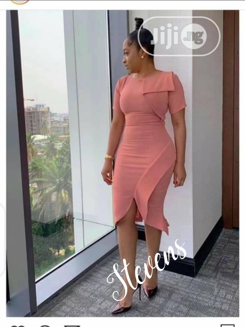 Quality Ladies Fitted Gown   Clothing for sale in Ikeja, Lagos State, Nigeria