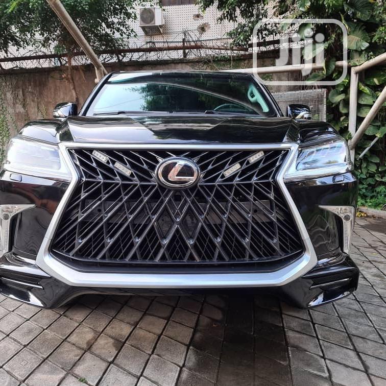 Lexus LX 2019 570 Two-Row Black