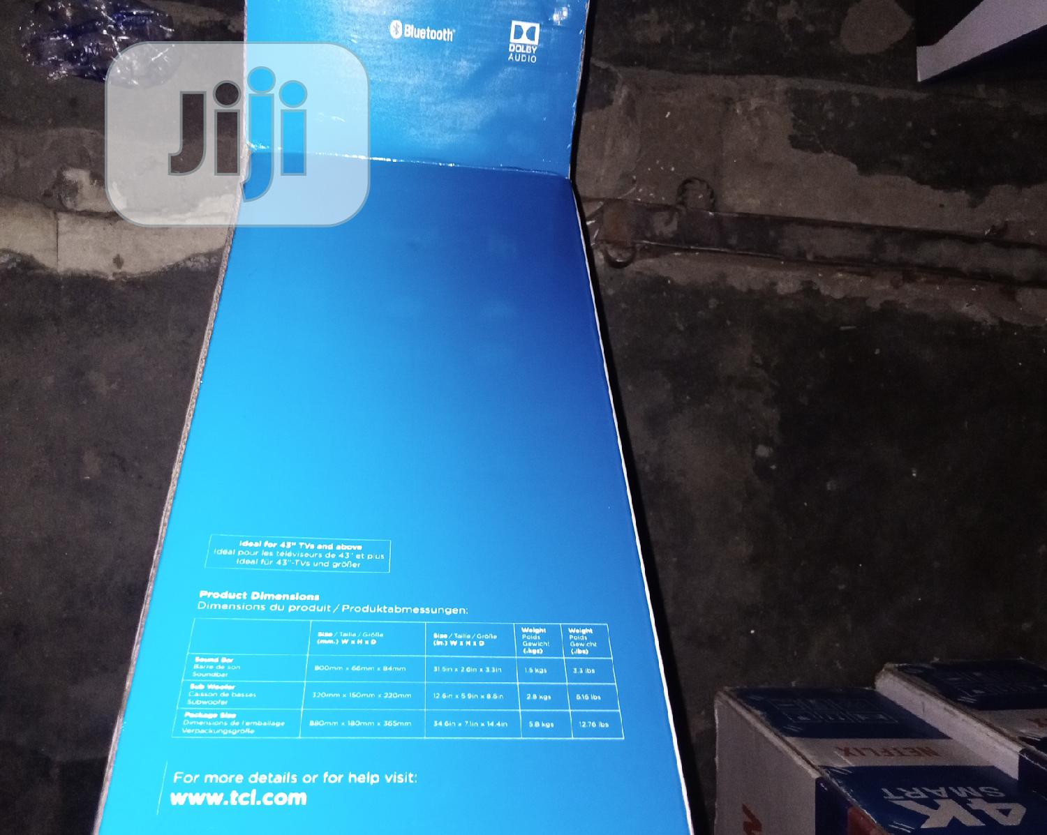TCL Sound Bar Sb-ts5010 (230W) | Audio & Music Equipment for sale in Ojo, Lagos State, Nigeria