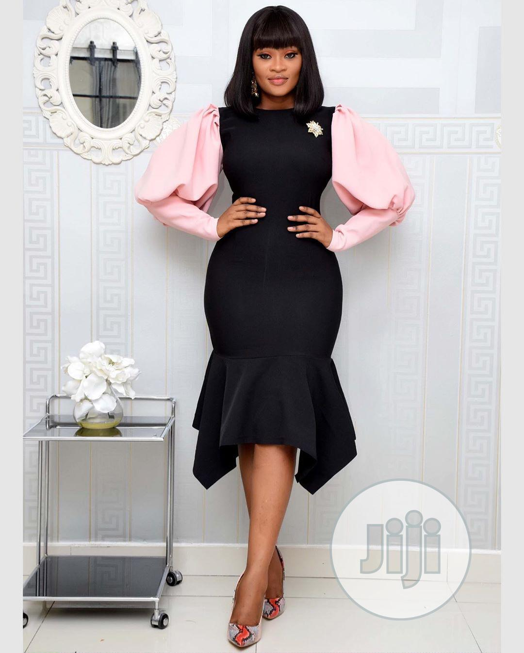 New Quality Ladies Fitted Gown   Clothing for sale in Ikeja, Lagos State, Nigeria
