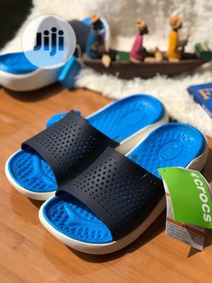 Original Crocs Blue Slide   Shoes for sale in Lagos State, Lagos Island (Eko)