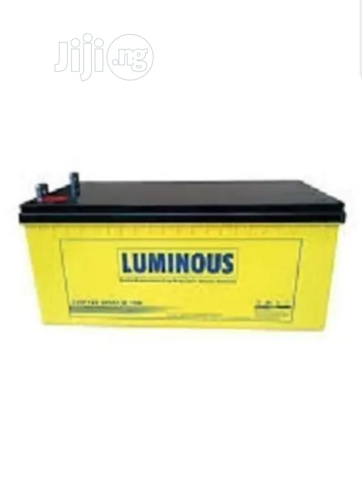 Luminous 12v 200ah Inverters Battery