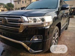 Toyota Land Cruiser 2017 5.7 V8 VXR Black   Cars for sale in Lagos State, Ikeja