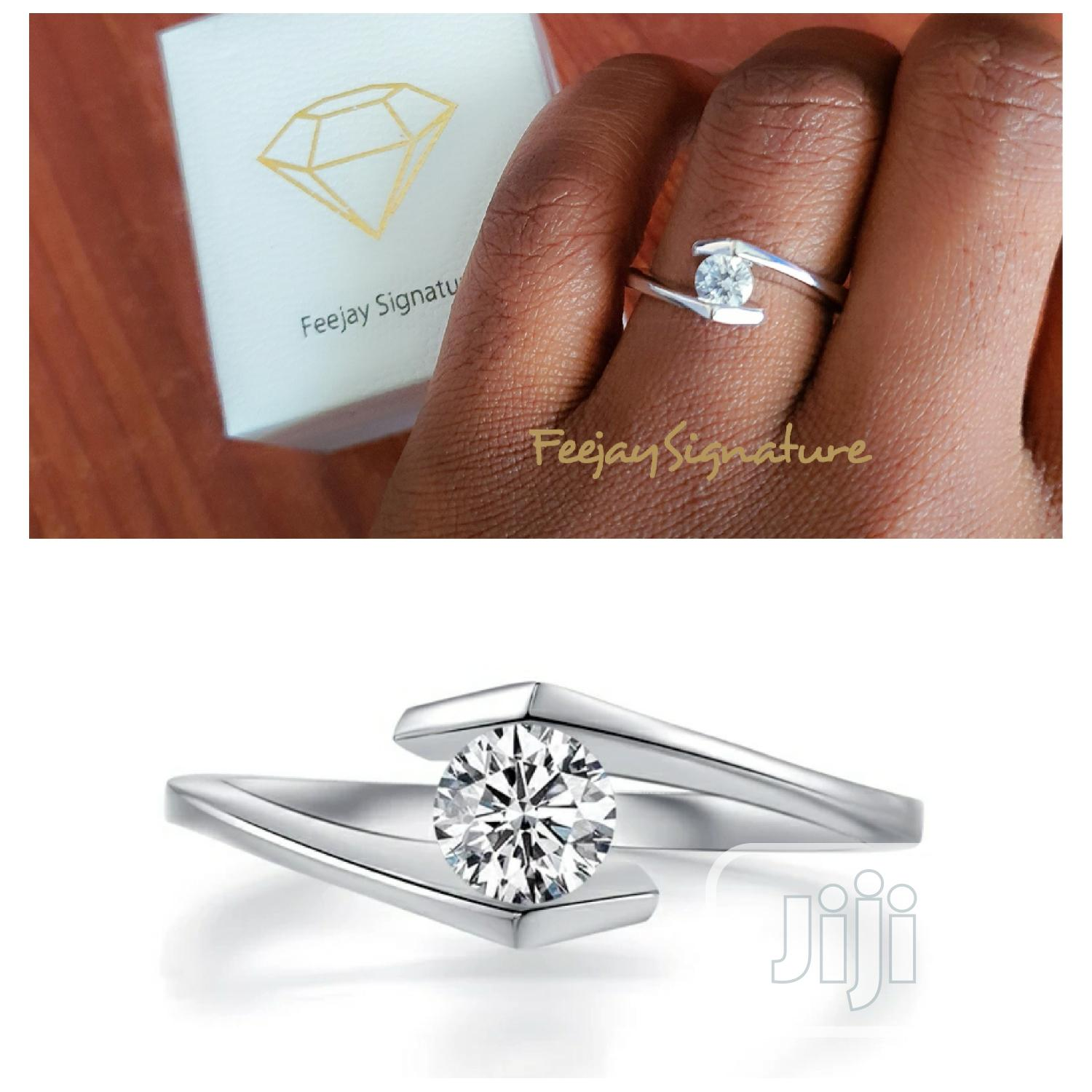 Sterling Silver Engagement Ring | Wedding Wear & Accessories for sale in Ibadan, Oyo State, Nigeria