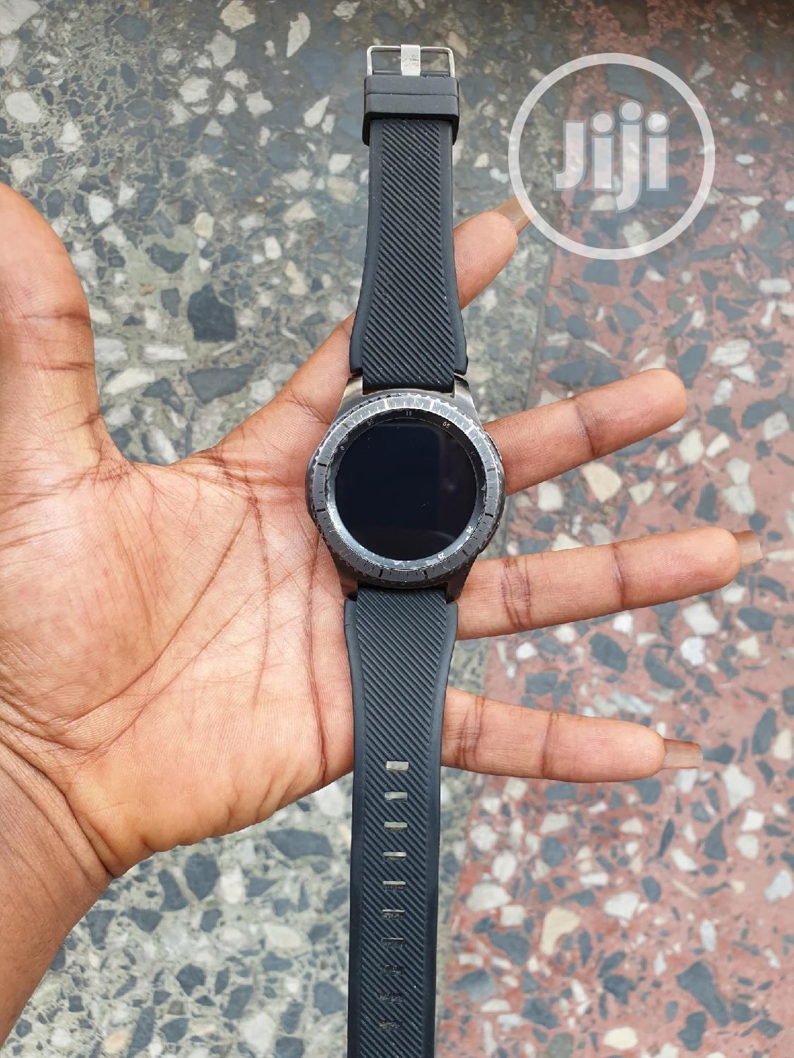 Samsung Gear S3 Frontier | Smart Watches & Trackers for sale in Aba South, Abia State, Nigeria
