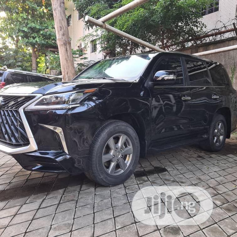 Lexus LX 2019 570 Two-Row Black | Cars for sale in Ikeja, Lagos State, Nigeria