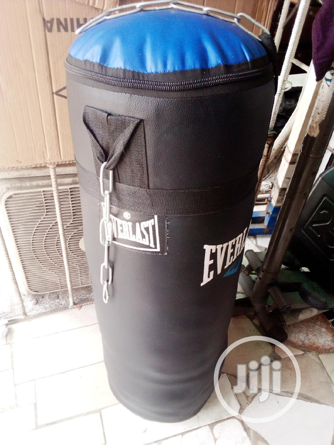 Archive: Fully Packed Leather Punching Bag