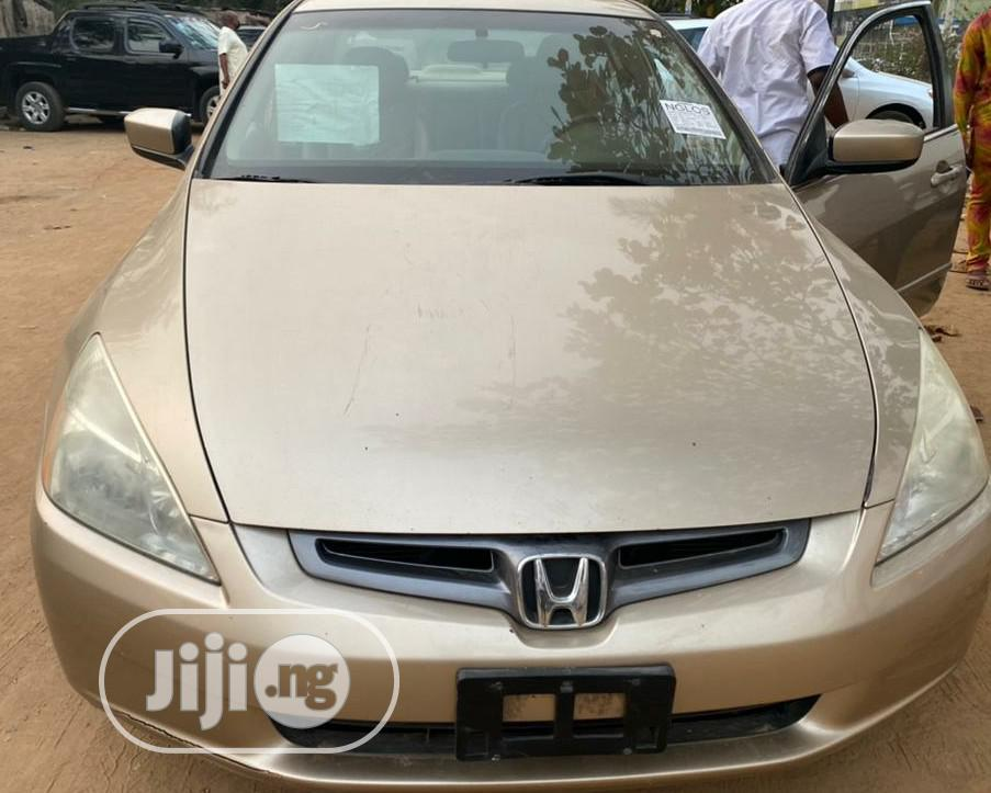 Honda Accord 2006 Sedan LX 3.0 V6 Automatic Gold