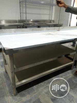 6 Feet Stainless Work Table | Restaurant & Catering Equipment for sale in Lagos State, Ikeja