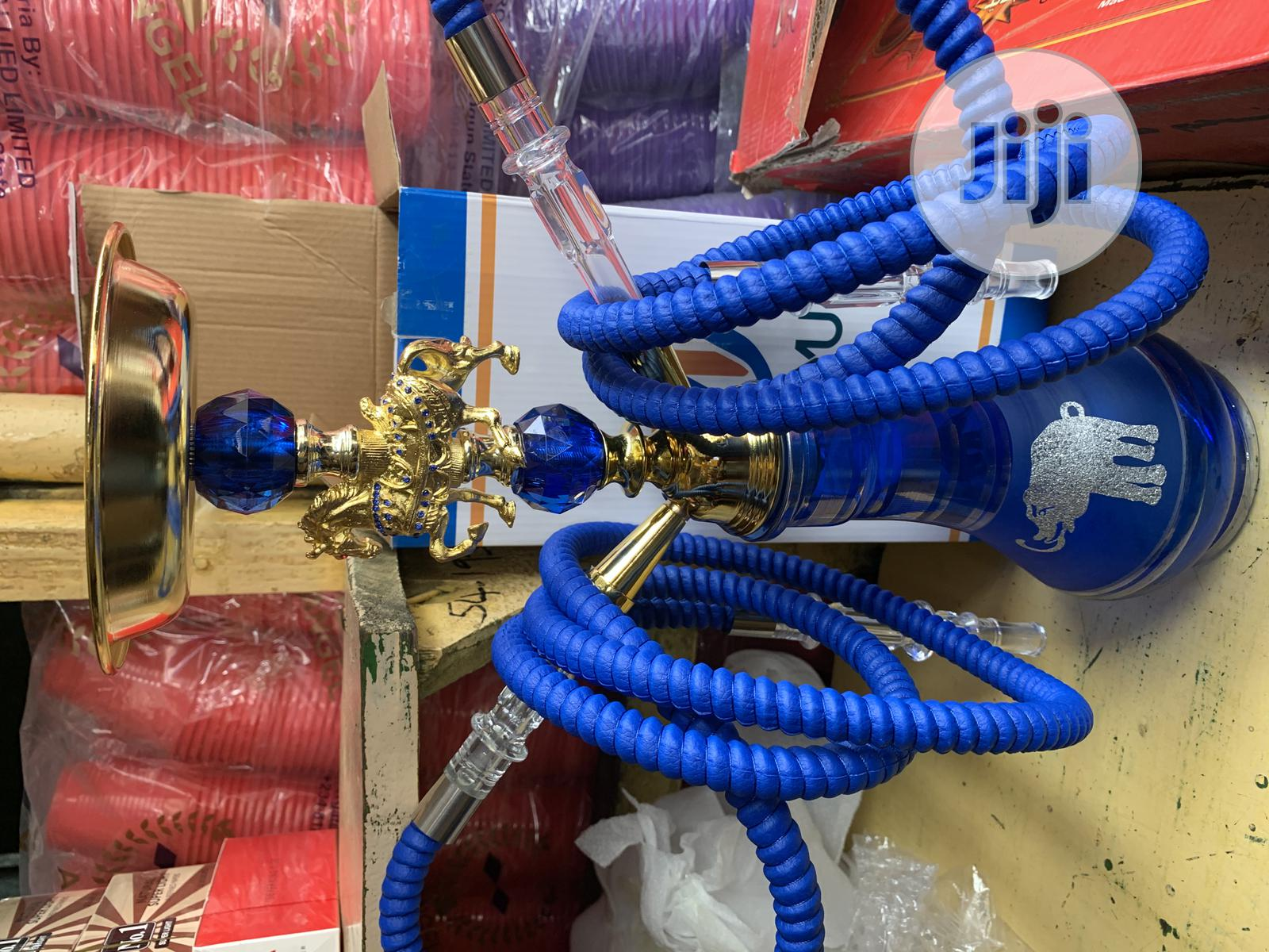Long Strong Quality Two Hose Hookah